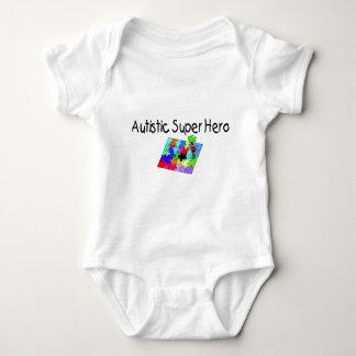 Autistic Super Hero Baby Bodysuit