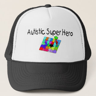 Autistic Super Hero Trucker Hat