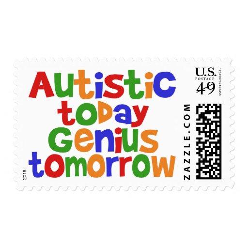 Autistic Today Postage