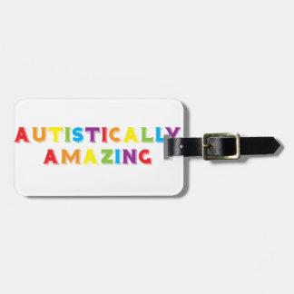 Autistically Amazing Bag Tag