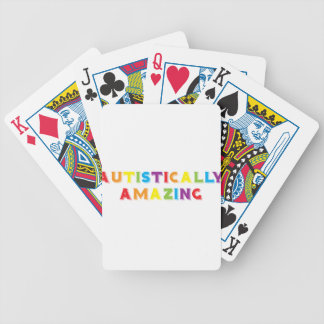 Autistically Amazing Bicycle Playing Cards