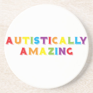 Autistically Amazing Drink Coaster