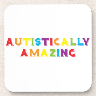 Autistically Amazing Beverage Coasters