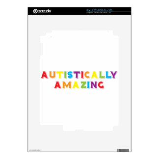 Autistically Amazing Decals For iPad 2