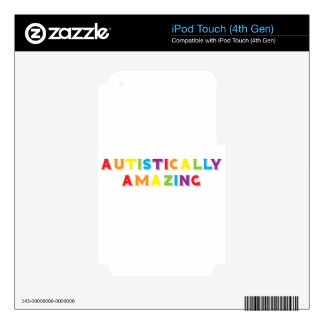 Autistically Amazing iPod Touch 4G Skins
