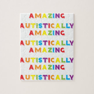 Autistically Amazing Jigsaw Puzzle
