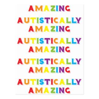 Autistically Amazing Postcard