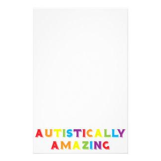 Autistically Amazing Stationery