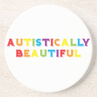 Autistically Beautiful Drink Coasters