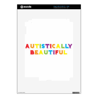 Autistically Beautiful Decal For The iPad 2