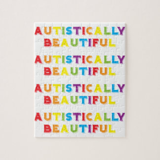Autistically Beautiful Jigsaw Puzzle