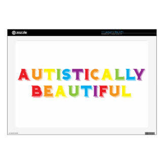 Autistically Beautiful Laptop Skins