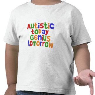 Autístico hoy camiseta