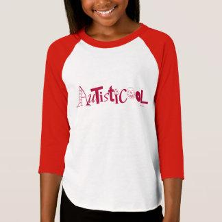 Autisticool Ringer Tshirt Pink