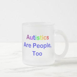 Autistics es gente, también taza de cristal