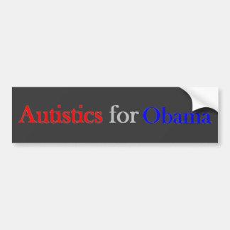 Autistics for Obama bumper sticker