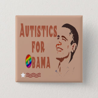 Autistics for Obama Buttons