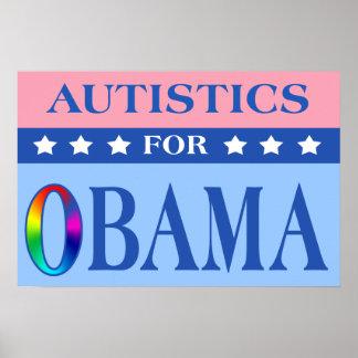 Autistics For Obama Poster
