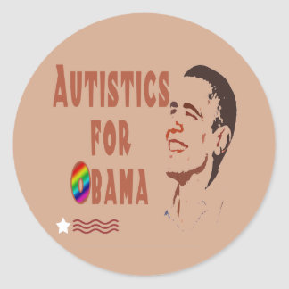 Autistics for Obama Stickers