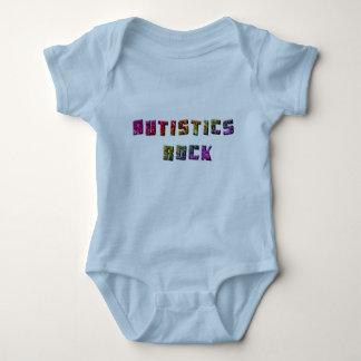 Autistics Rock Baby Bodysuit