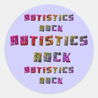 Autistics Rock Stickers