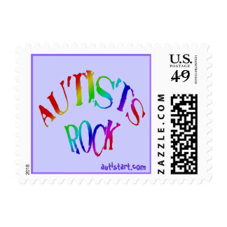 Autists Rock Stamps