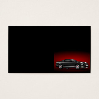 auto-158479 auto car racing racecar ground transpo business card