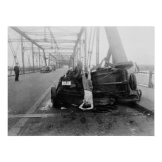Auto Accident, 1933 Poster