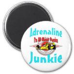 Auto Adrenaline Fridge Magnets