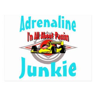 Auto Adrenaline Postcard