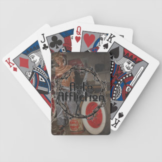 Auto Affliction Pin-up girl playing cards