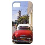Auto americano clásico viejo en Guanabacoa una ciu iPhone 5 Funda