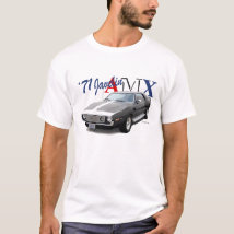 AUTO ART T-Shirt AMX American Motors Javelin AMC
