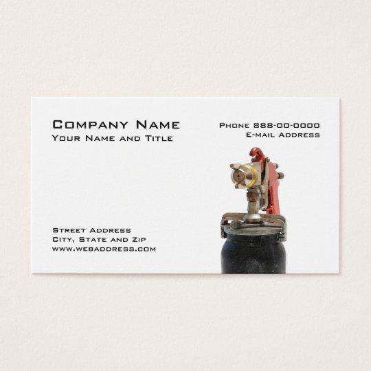 Auto Body Business Card