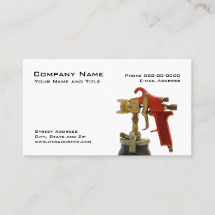 3d632447 Gun Business Cards | Zazzle
