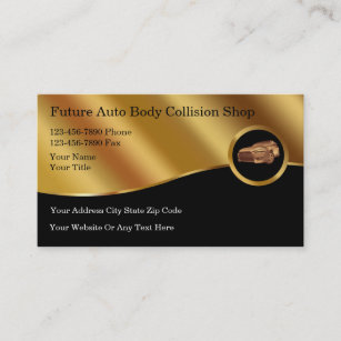 Auto body business cards templates zazzle auto body collision business cards colourmoves