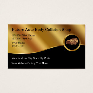 Auto Body Business Cards Templates Zazzle