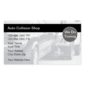 Auto Body Collision Business Cards