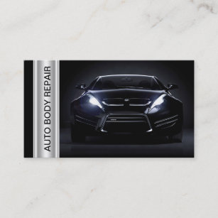 Auto body business cards templates zazzle auto body collision shop business cards colourmoves
