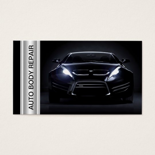Auto body collision shop business cards zazzle auto body collision shop business cards colourmoves Image collections