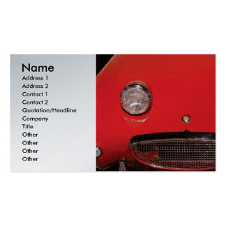 Auto Body - Say Cheese! Double-Sided Standard Business Cards (Pack Of 100)