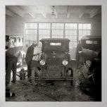 Auto Body Shop, 1926 Print