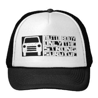 Auto Body Survive Trucker Hat