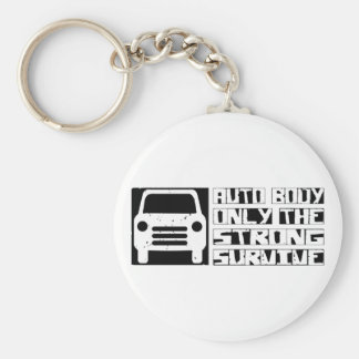 Auto Body Survive Keychain