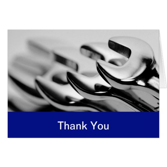 Auto business thank you cards zazzle auto business thank you cards colourmoves