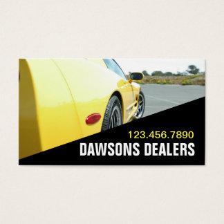 Auto Car Dealer Body Shop Dealership Business Card