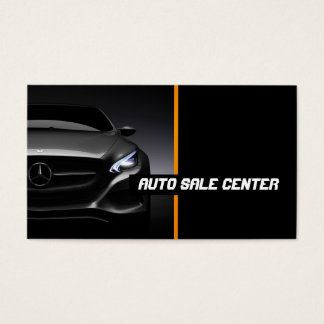 Auto, Car, Dealer Business Card