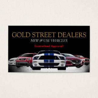 Auto, Car, Dealer Dealership Business Card