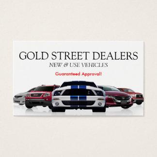 car dealer business cards