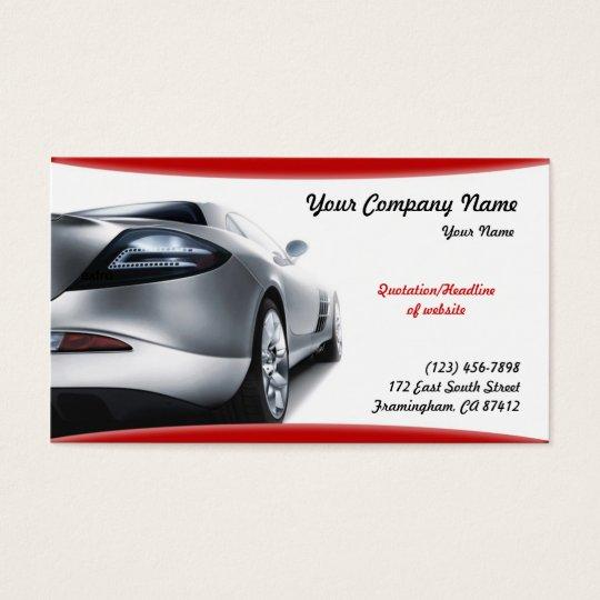 Auto Cars Business Card